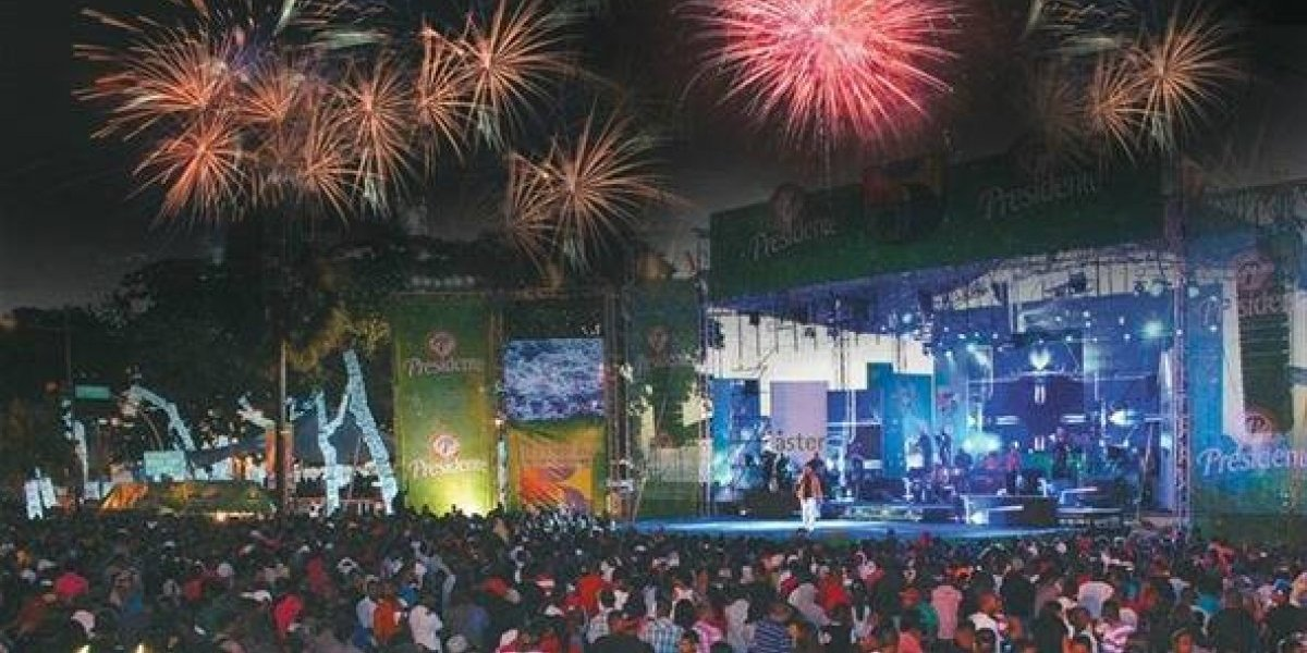 Conciertos masivos en Santo Domingo y Santiago para celebrar el 2019