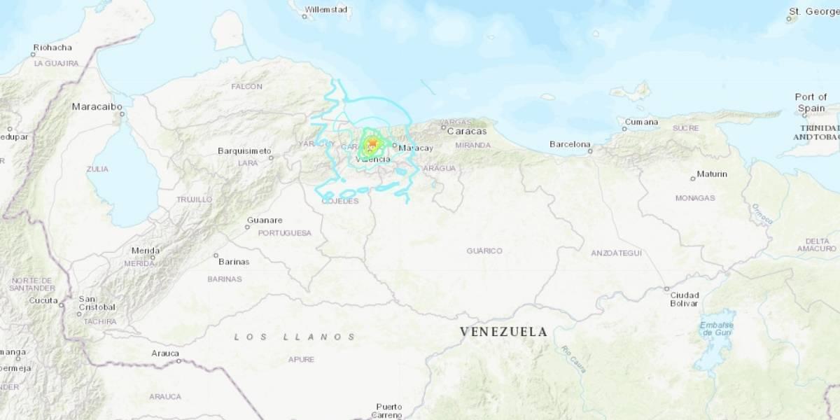 Pánico en Venezuela por 6 sismos registrados en la madrugada