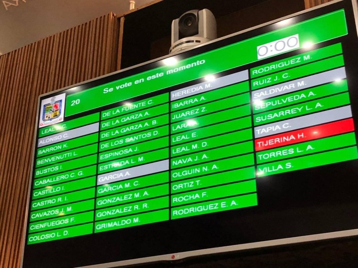 Votaciones en Nuevo León Foto: Cortesía