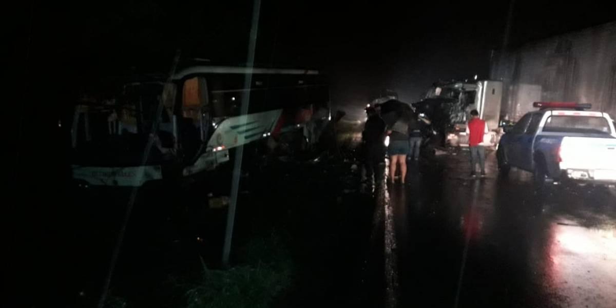 Nueve heridos en accidente de tránsito en Los Ríos