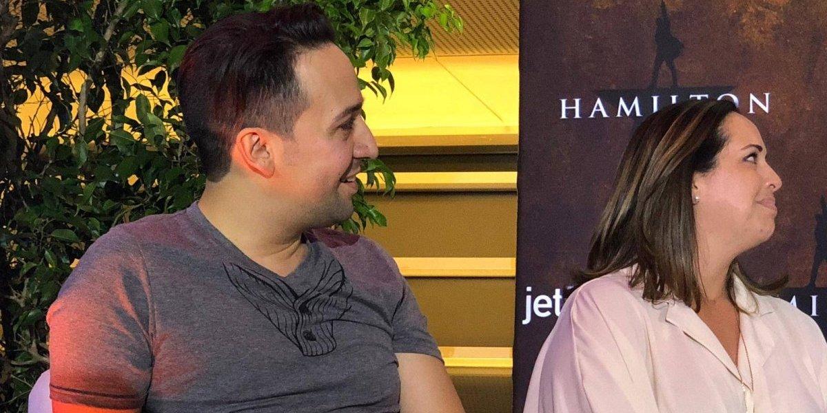 Lin-Manuel Miranda llega a Puerto Rico rumbo a estreno de Hamilton en la isla
