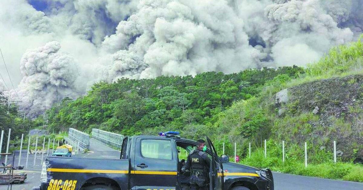 Retrospectiva 2018 - erupção guatemala