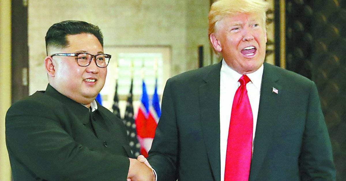 Retrospectiva 2018 - Trump e Kim