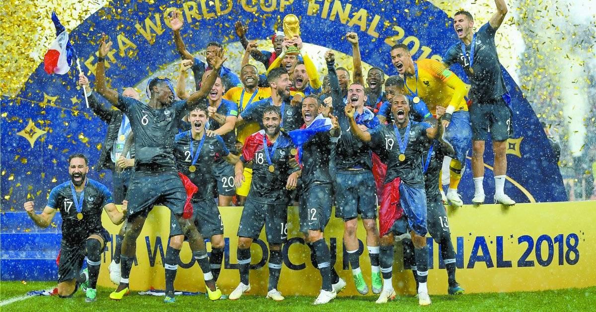 Retrospectiva 2018 - Final copa do Mundo França