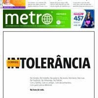 Retrospectiva 2018 – Capas Metro