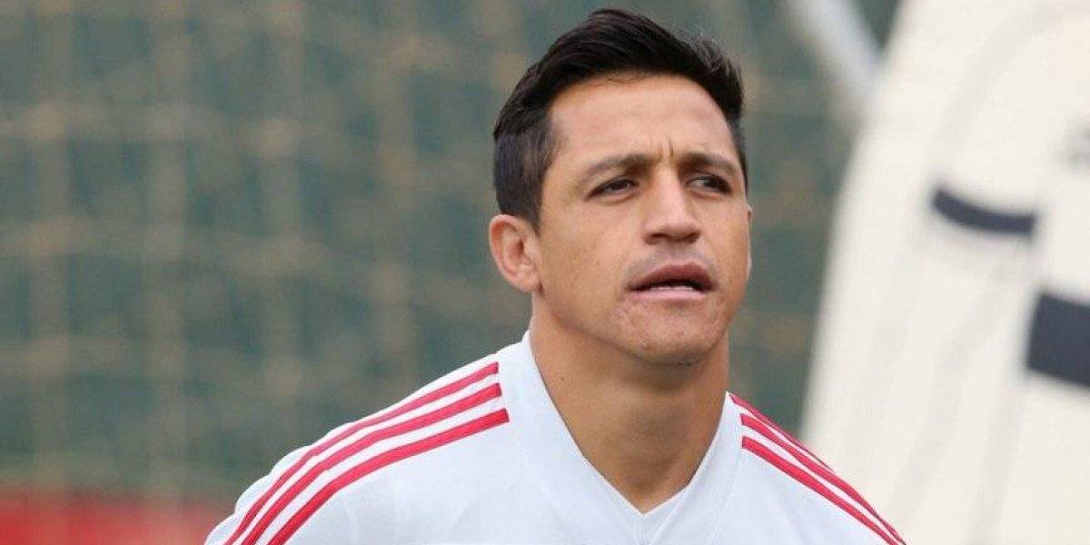 Alexis Sánchez entrena con sus compañeros de Manchester United y se ilusiona con volver a jugar