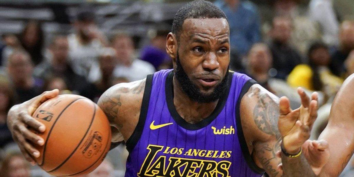 """LeBron James estaría """"varias semanas"""" sin jugar y pone en alerta a los Lakers"""