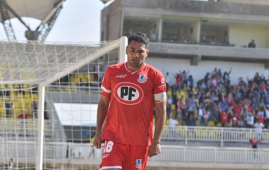 Gonzalo Abán, capitán de Unión La Calera en la temporada 2018, tiene un acuerdo para jugar en Cobreloa el 2019 / Foto: Agencia UNO