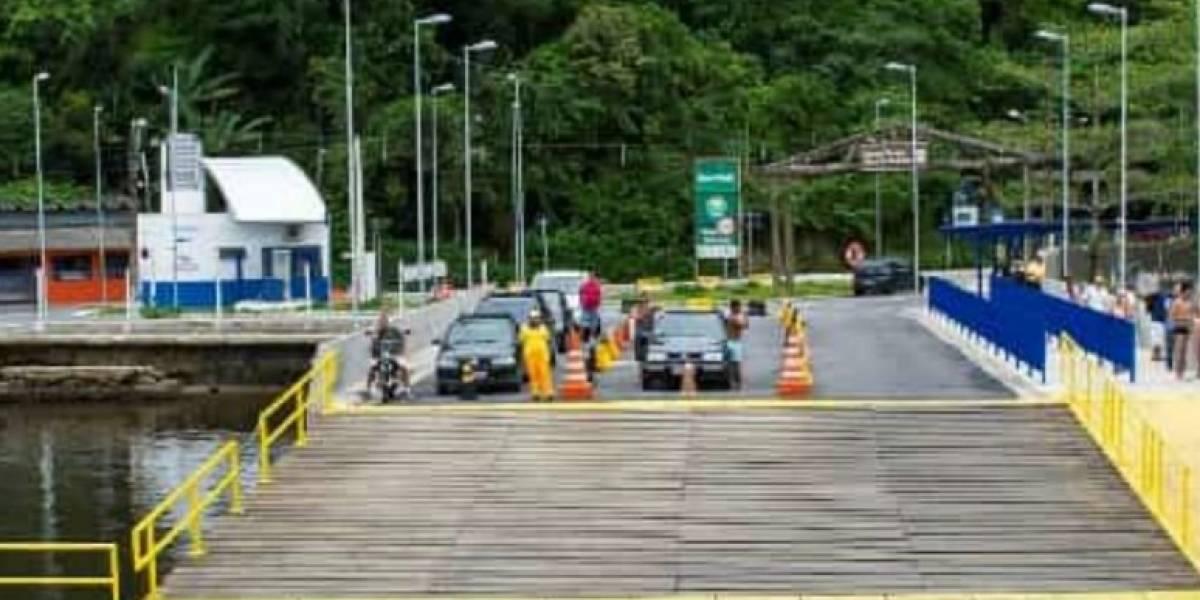 Adolescente morre após carro cair de balsa no litoral sul de São Paulo