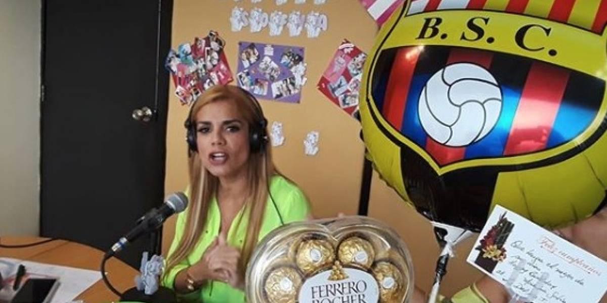 Así celebró la actriz Sofía Caiche su cumpleaños 38
