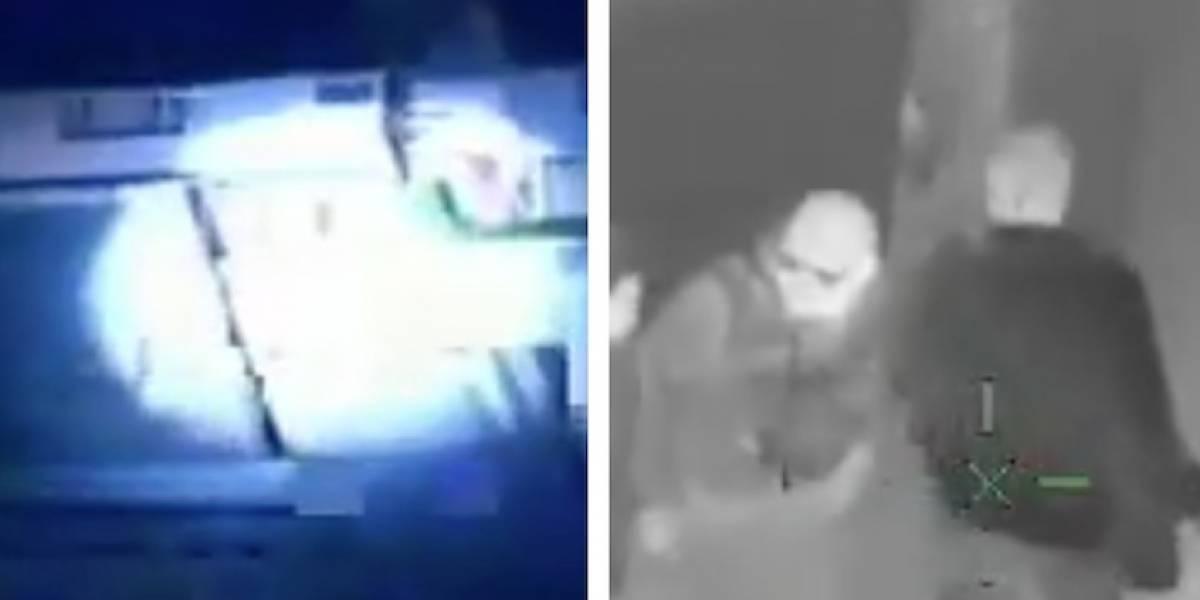 VIDEO: con helicóptero persiguieron a banda que intentó robar una casa en Bogotá