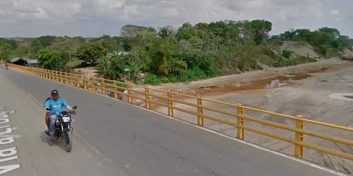Encuentran una cabeza humana en un puente de El Bagre, Antioquia