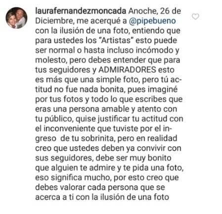 Captura de pantalla Instagram Pipe Bueno
