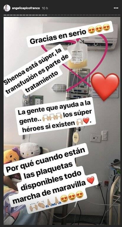 Donación sangre para hija de Sherman Cárdenas 2