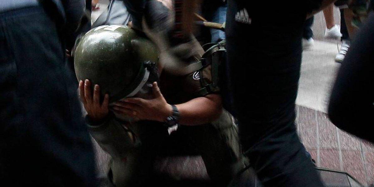 """¿Se perdió el respeto? Piñera condena agresión que dejó inconsciente a carabinero: """"Es cobarde y brutal"""""""