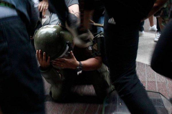 ¿Se perdió el respeto? Piñera condenó agresión a carabineros en Paseo Ahumada