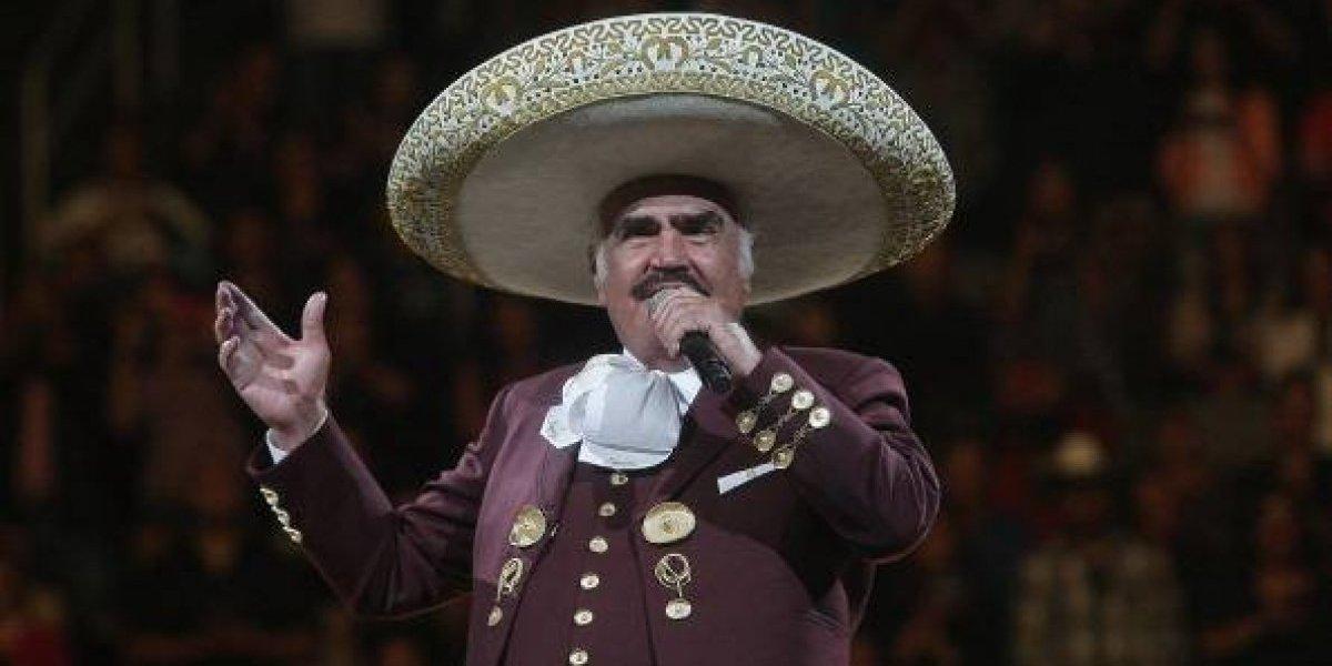 Vicente Fernández sorprendió a todos sus fanáticos