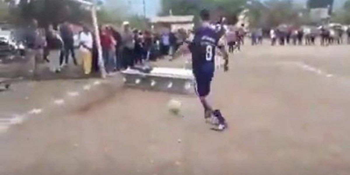 VIDEO: Equipo mexicano despide a futbolista marcando un gol con su ataúd