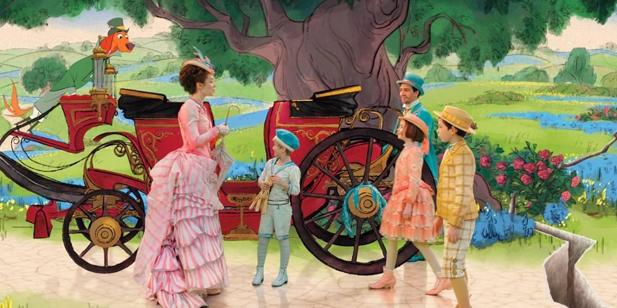O Retorno de Mary Poppins: sequência animada levou um ano para ser concluída; entenda