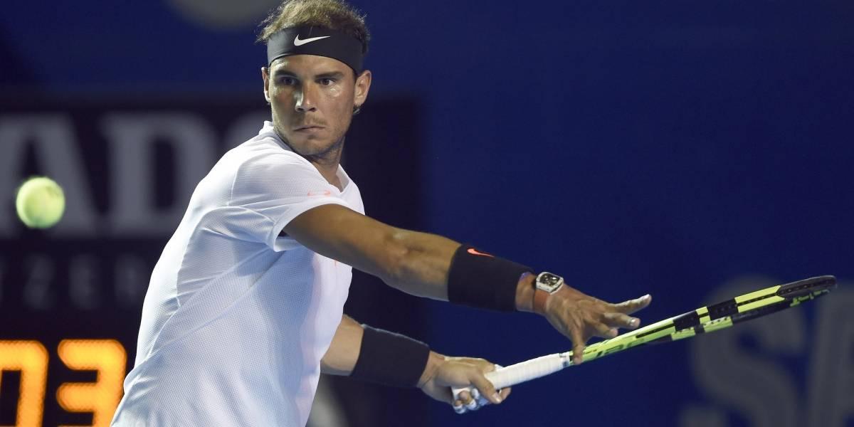 Rafael Nadal volvió a la actividad, pero no le fue nada bien