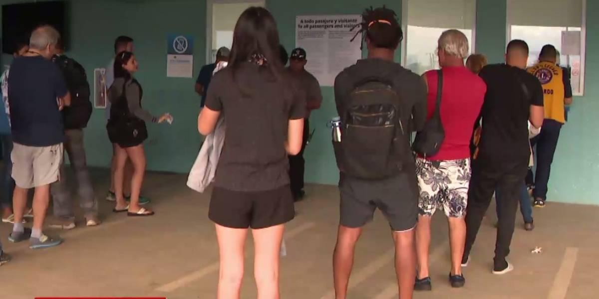 Denuncian caos en terminal de lanchas de Ceiba