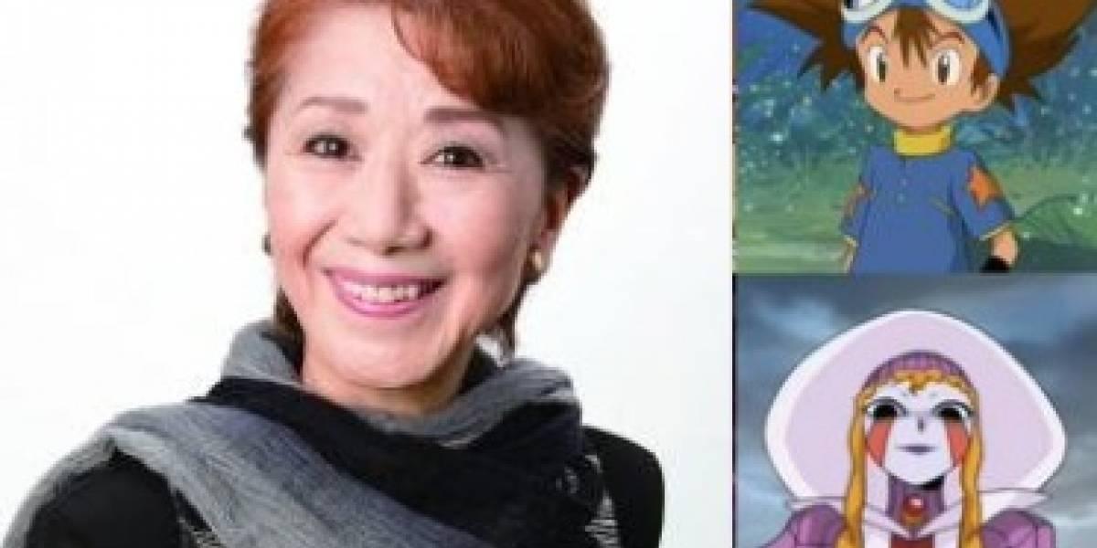 Fallece Toshiko Fujita, voz original de Tai en Digimon