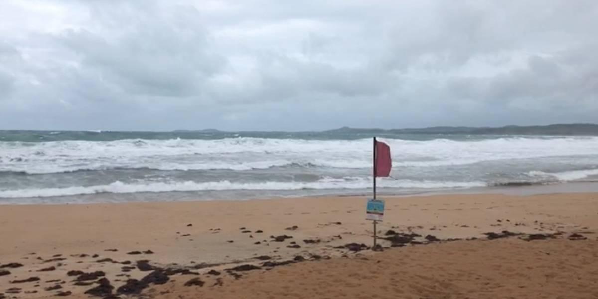 Continúan los fuertes vientos y peligroso oleaje
