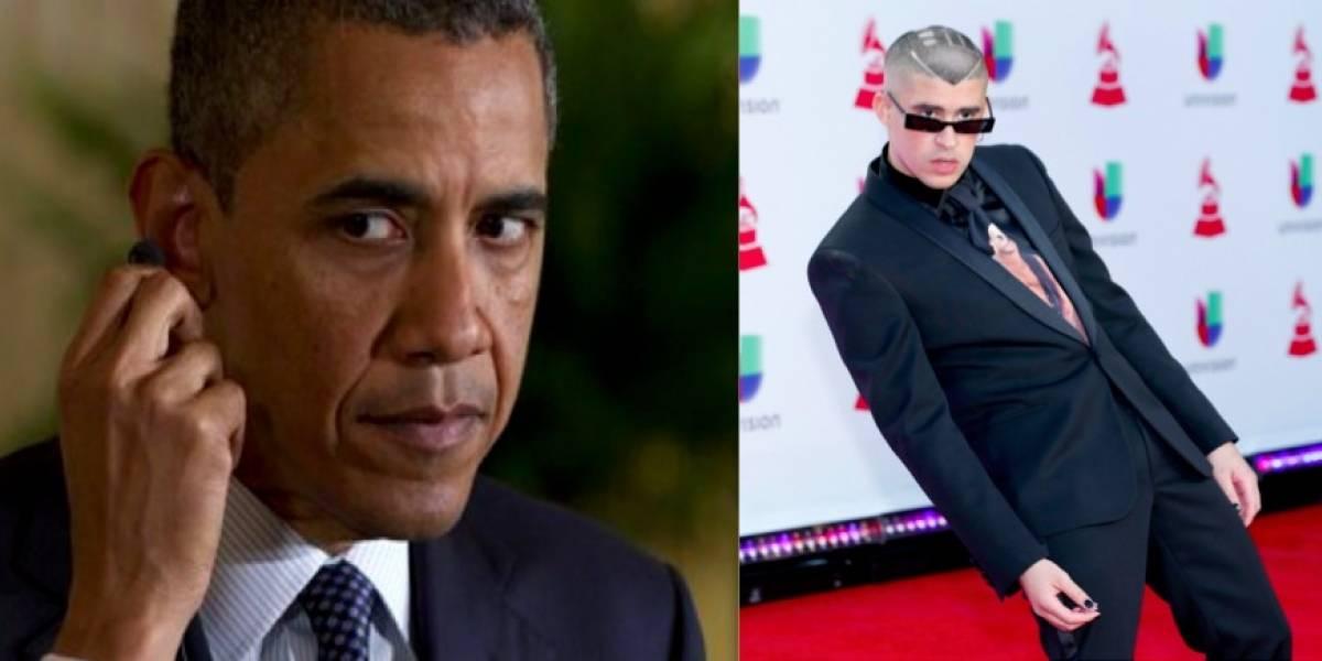 Bad Bunny entre los favoritos de Barack Obama en el 2018