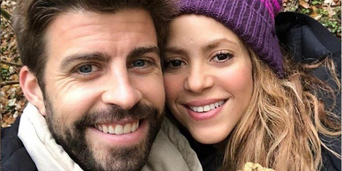 Juntitos, Piqué y Shakira comparten su primera imagen en estas fiestas