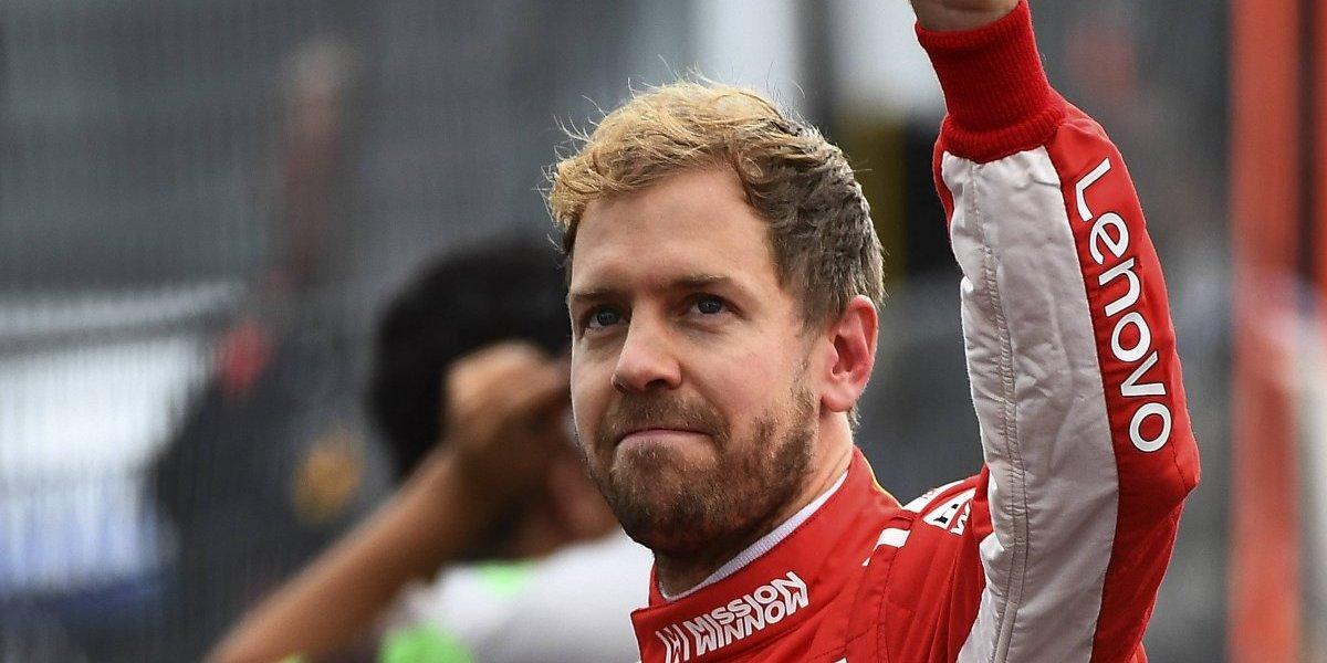 Sebastian Vettel responsabiliza a su Ferrari por subcampeonato en F1