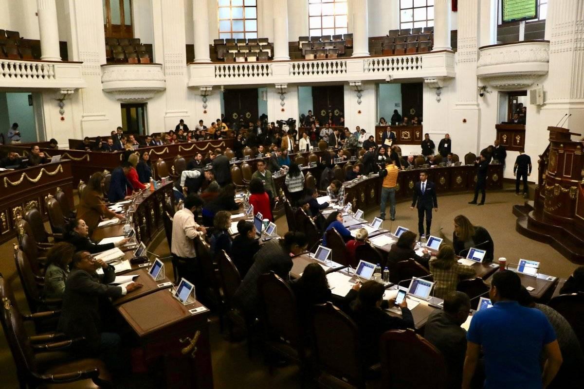 Congreso de la Ciudad de México Foto: Cuartoscuro