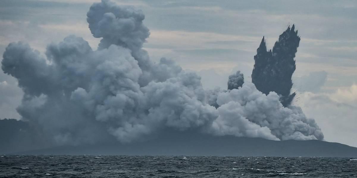 Anak Krakatoa: el dramático colapso del volcán de Indonesia tras su erupción