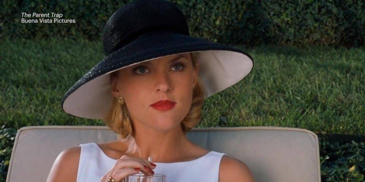 Así luce Meredith Blake la 'mala' de Juego de gemelas