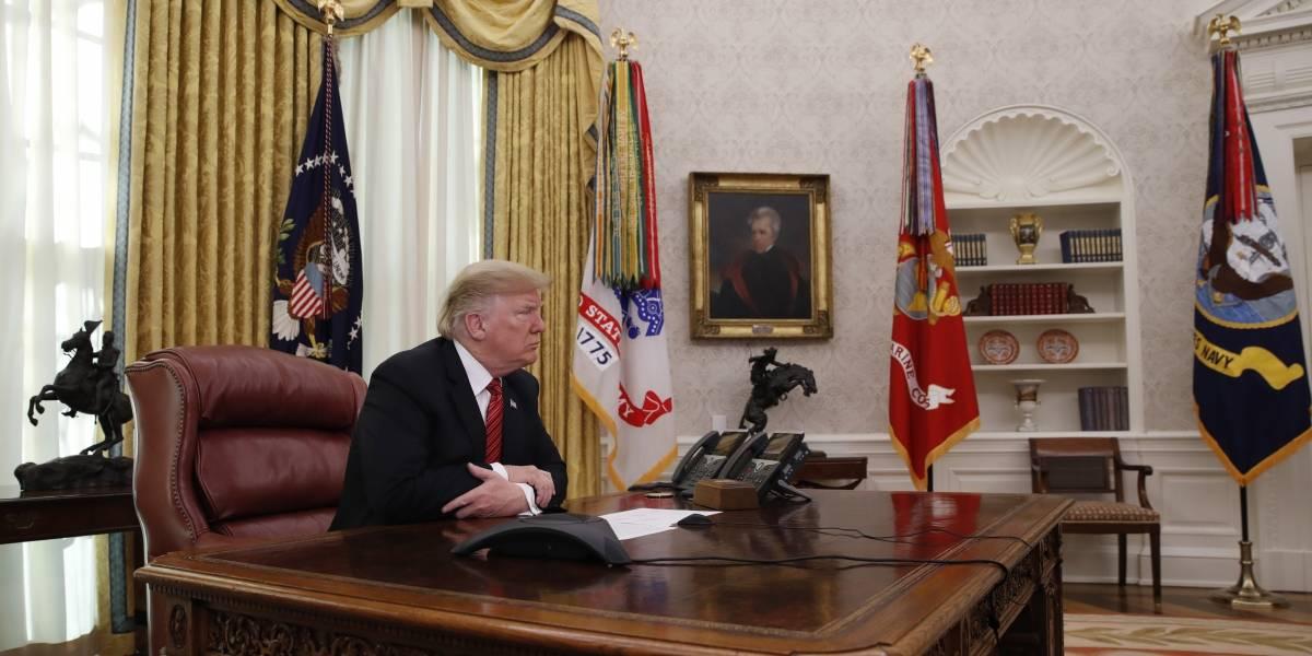 Donald Trump recibirá 2019 sin su familia y sin Melania en la Casa Blanca