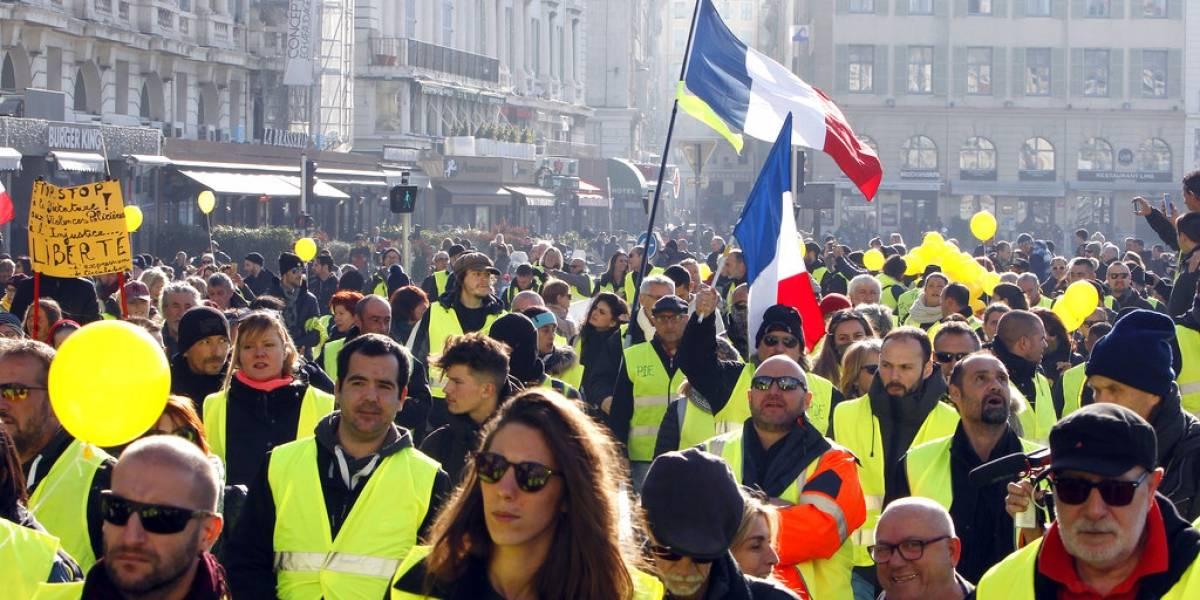Mundo: El movimiento de chalecos amarillos perdió intensidad en su séptima protesta