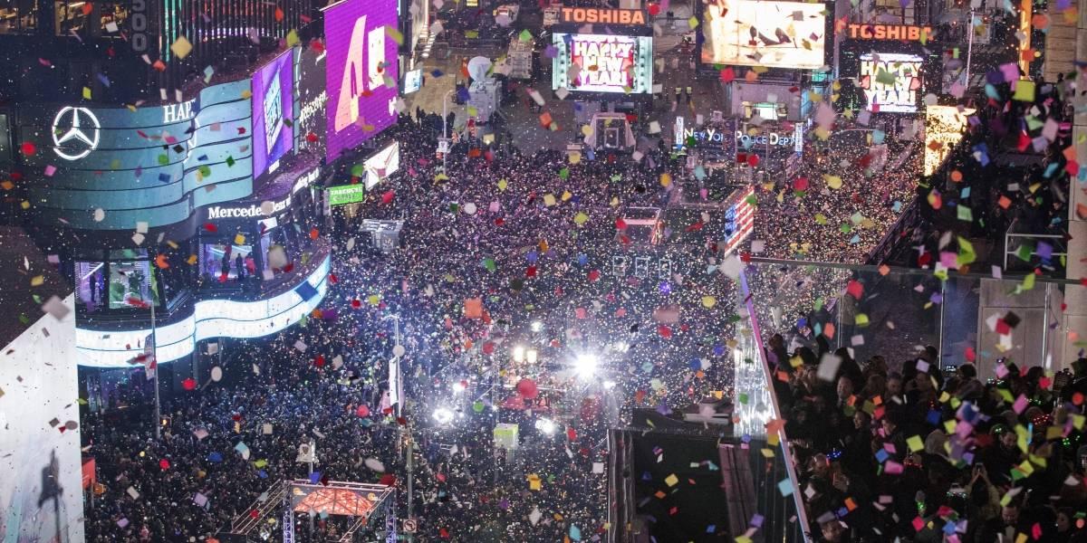 Dudan que dos millones festejen Año Nuevo en la Ciudad de Nueva York