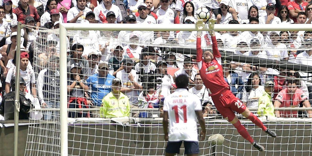 Liga de Quito a un paso de cerrar el fichaje de Gabbarini