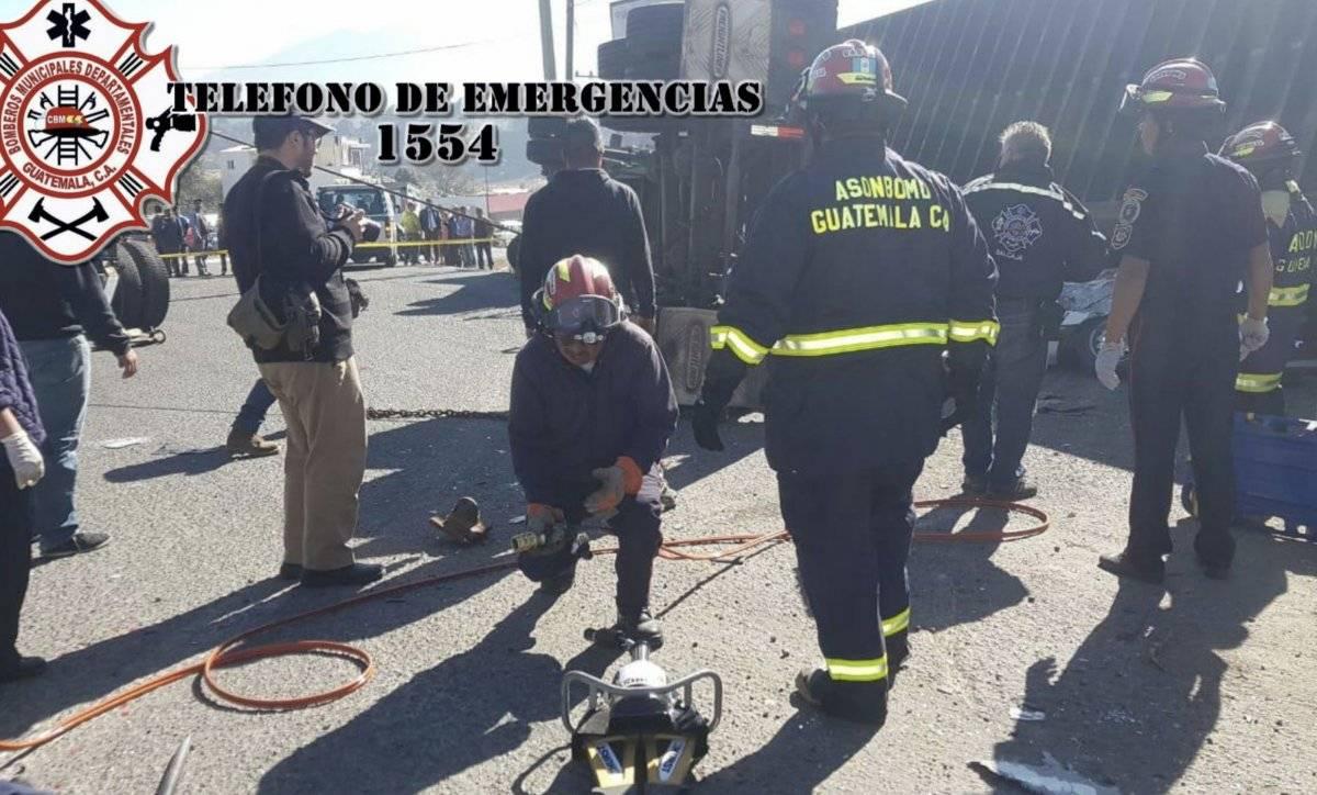 Foto: Bomberos Municipales Departamentales