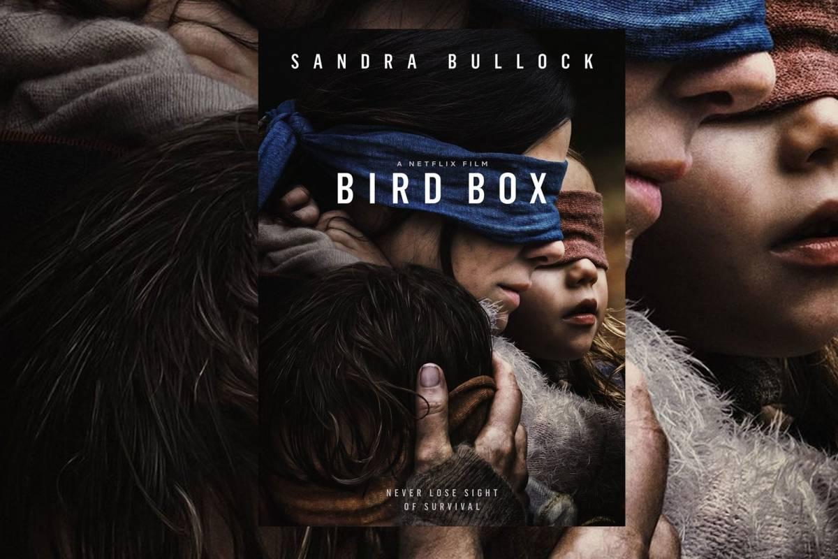 Sandra Bullock rompe récord con Bird Box
