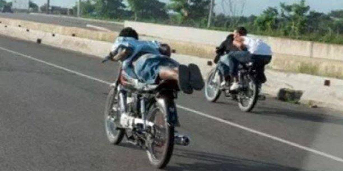 MOPC detendrá motoristas circulen por vía contraria y participen en carreras