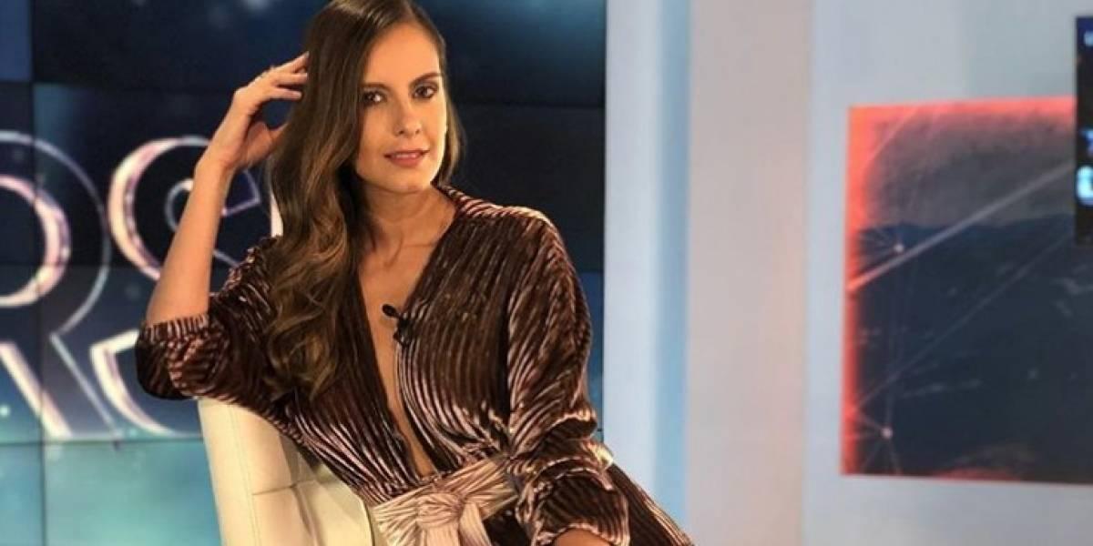 Escote de Laura Acuña en 'Noticias RCN' llamó la atención de los televidentes