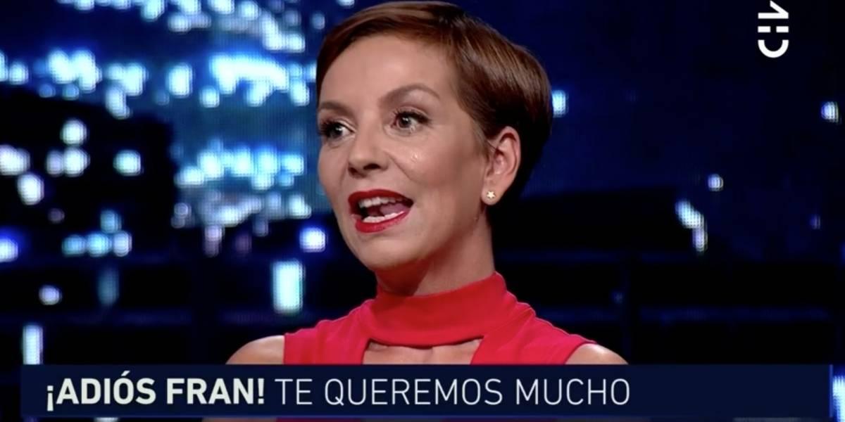 La emotiva despedida de Francisca García-Huidobro