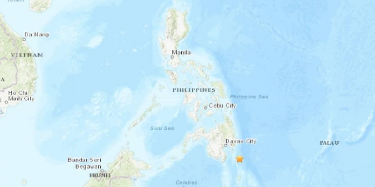 Cancelan alerta de tsunami por terremoto de 6,9 grados en el sur de Filipinas