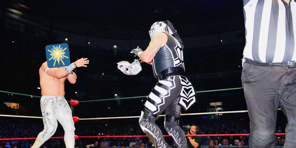Carístico y Penta 0M ofrecieron una lucha espectacular en la Arena México
