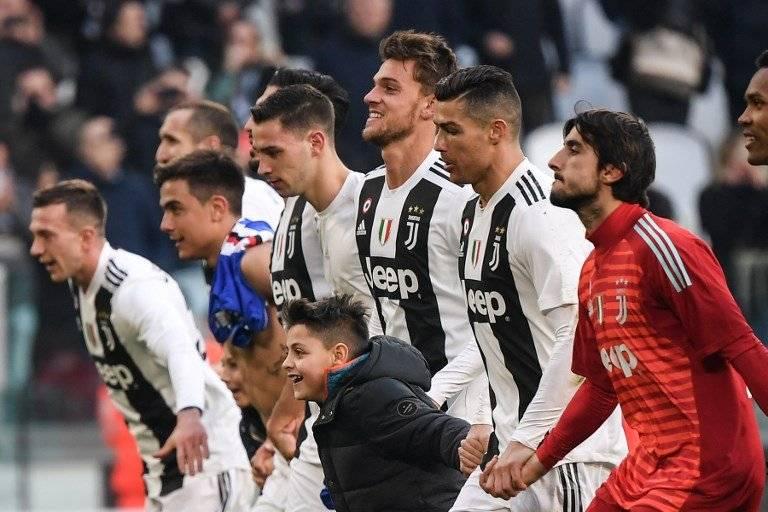 Cristiano Ronaldo sumó un nuevo récord para la Juventus. AFP