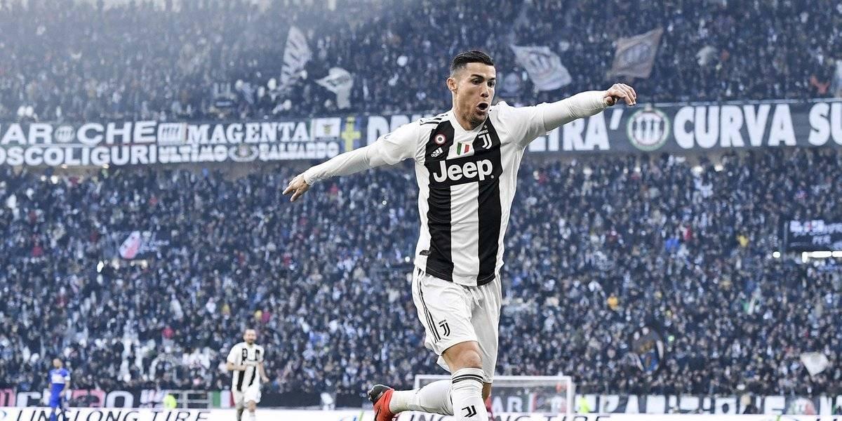 Cristiano Ronaldo firmó un doblete para extender el invicto de la Juve