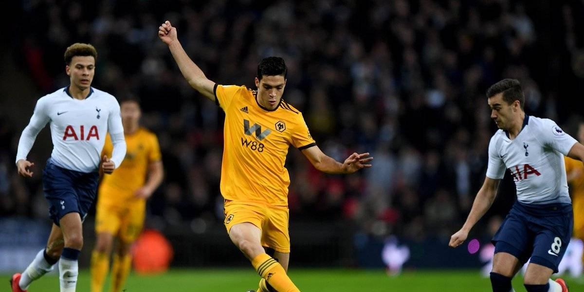 Raúl Jiménez cerró el 2018 con gol y una victoria con el Wolverhampton
