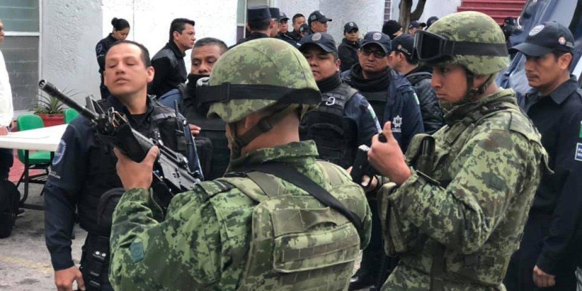Ejército asume seguridad pública en Yautepec, Jiutepec y Cuernavaca