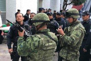 Fuerzas federales en Morelos