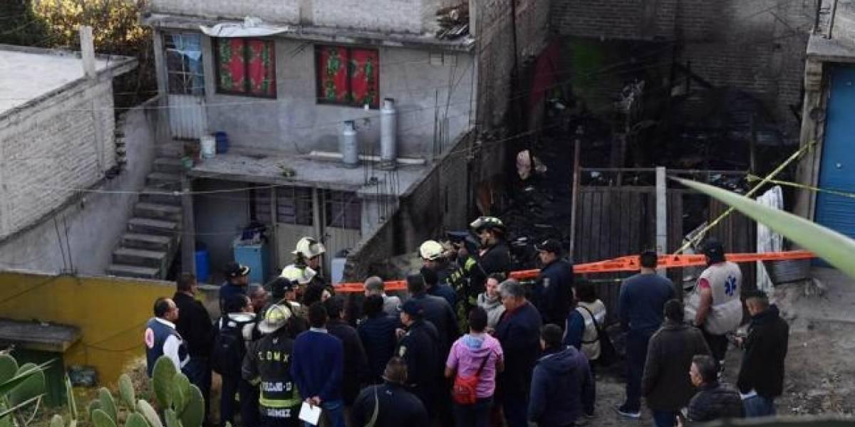 Seis niños mueren quemados por incendio en Ciudad de México